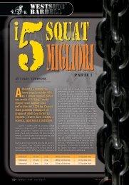 I 5 squat migliori (prima parte) (PDF) - Olympian's News