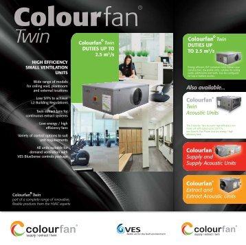 Colourfan Twin Extract - VES