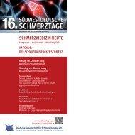 Schmerztage - Kompass Gesundheit - Das Magazin für Baden ...