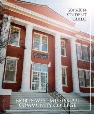 Student Handbook - Northwest Mississippi Community College