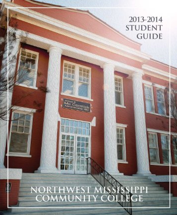 Student Handbook - Northwest Mississippi Community College