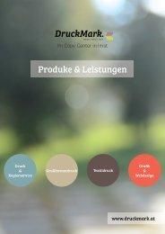 DruckMark Produkt & Leistungsübersicht