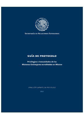 introducción - Secretaría de Relaciones Exteriores