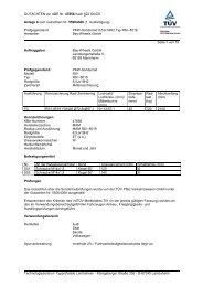 GUTACHTEN zur ABE Nr. 47856 nach §22 StVZO Anlage 8 zum ...