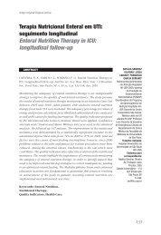 Terapia Nutricional Enteral em UTI