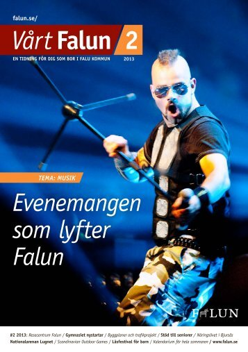 Vårt Falun nr 2, 2013 (pdf 5,3 MB) - Falu Kommun