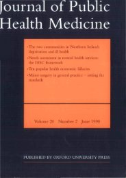 Front Matter (PDF) - Journal of Public Health