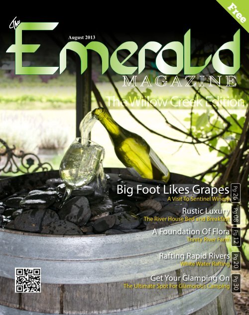 August 2013 - The Emerald Magazine