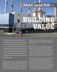 (RIE) - Building Value - Mustang Engineering Inc.