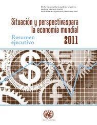 Situación y perspectivaspara la economía mundial - Organización ...