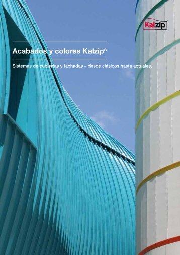 Acabados y colores Kalzip®