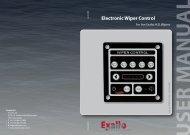 Electronic Wiper Control - Exalto