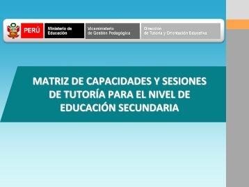 Ir a conferencia - Dirección de Tutoría y Orientación Educativa