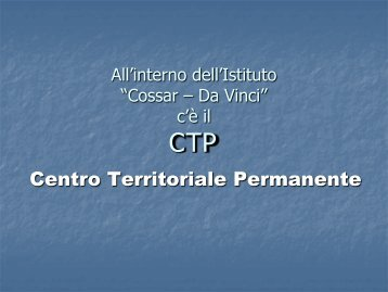 documento scaricabile in PDF - RM COSSAR - LEONARDO da VINCI