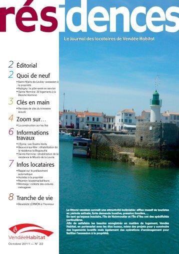 RESIDENCES 22 - septembre 2011.indd - Vendée Habitat