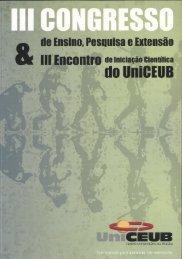III Congresso(2005) - UniCEUB