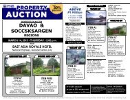 PNB Foreclosed Properties GenSan Auction