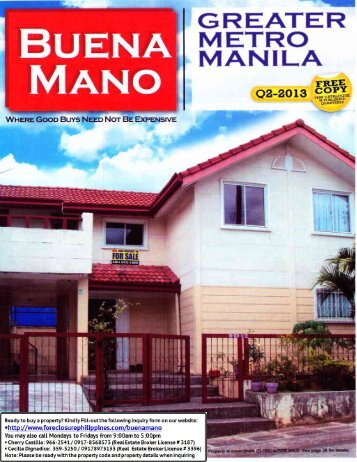 MANILA - ForeclosurePhilippines.com
