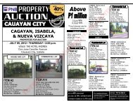 PNB Foreclosed properties auction in Cauayan City – July 5, 2012 ...