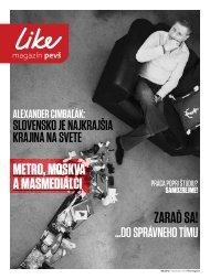 Časopis LIKE 06/2012 - Paneurópska vysoká škola