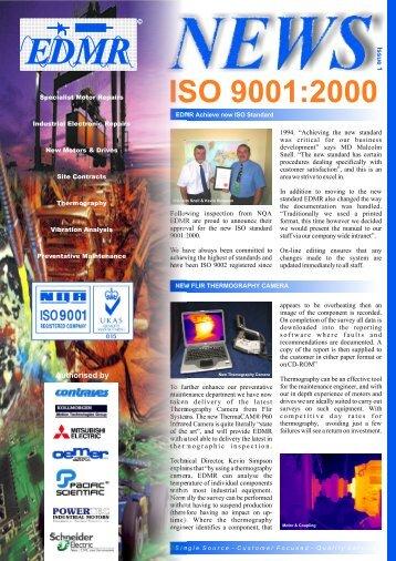 September 2003 Newsletter Version 31 - EDMR for Servo Motor ...