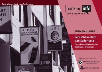SME Permohonan Pinjaman3/6 - Banking Info