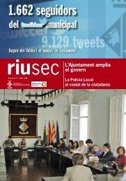 Riu Sec maig - juny 2012 - Ajuntament de Cerdanyola del Vallès