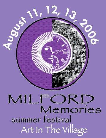 Art In The Village - Milford Memories