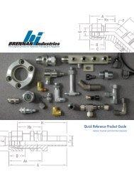 Brennan N2408-06-SS Stainless Steel Compression Tube Fitting 3//8 Tube OD 3//8 Tube OD Brennan Industries Inc. Double Ferrule Cap