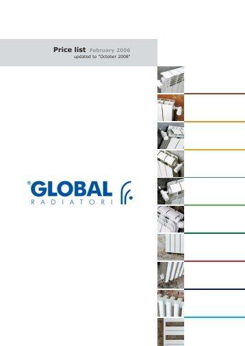 Price list February 2006 - Global
