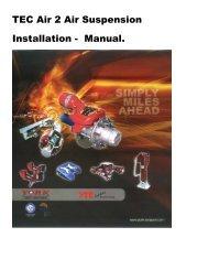 TEC Air 2 Air Suspension Installation - Manual. - York Transport ...