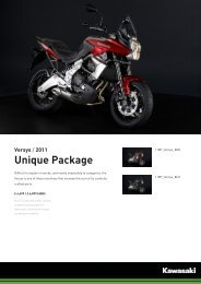Versys / 2011 Unique Package