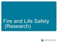 Fire and Life Safety - Cancer Consortium