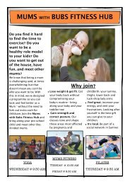 Mums with bubs - Physiotherapy and Pilates Evolved, Christchurch