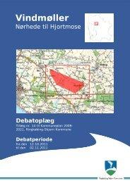 vindmøller v Nørhede t. Hjortmose.pdf - Ringkøbing-Skjern Kommune