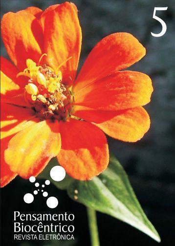 Capa final revista 5.cdr - Pensamento Biocêntrico