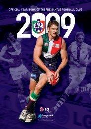 FD326a Year Book 2009 - Fremantle Football Club
