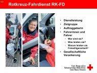 Rotkreuz-Fahrdienst: Mobilität für Fahrer und Fahrgäste ...