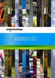 Onderwijsgids 2011-2012 Wellant MBO Gouda - Wellantcollege