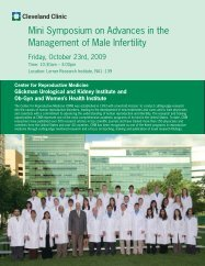 Mini Symposium on Advances in the Management of Male Infertility