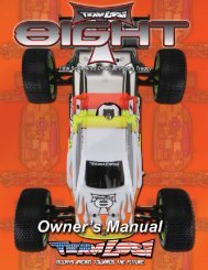 8IGHT T Instruction Manual Part 1 - Team Losi Racing
