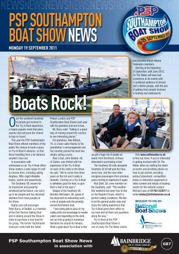 BoatsRock! - Southampton Boat Show