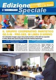 IL GRUPPO COOPERATIVO PARITETICO GE.S.IN - PRO.GES. IN ...