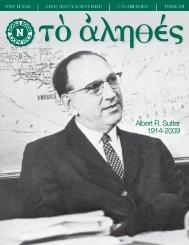 Albert R. Sutter 1914-2009 - Nichols School