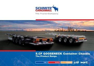 S.CF GOOSENECK Container Chassis - Schmitz Cargobull AG