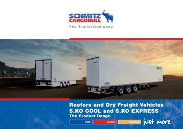 Reefers and Dry Freight Vehicles S.KO COOL and S.KO EXPRESS