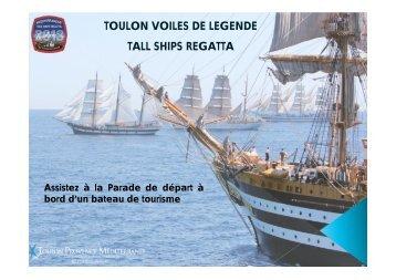 TOULON VOILES DE LEGENDE TALL SHIPS REGATTA - Acvs