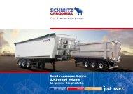 Semi-remorque benne S.KI grand volume - Schmitz Cargobull AG