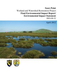 Environmental Impact Statement - Sonoma Land Trust