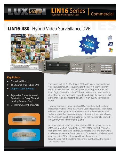 LIN16-480 - Luxon Video